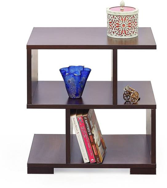 Suncrown Furniture Wooden Bed Side End Table For Living Room - Brown Engineered Wood Bedside Table
