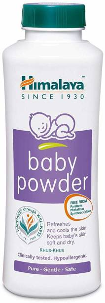 Himalaya Herbals Baby Powder 200 gr. with Refreshing Baby Soap 75 gr.