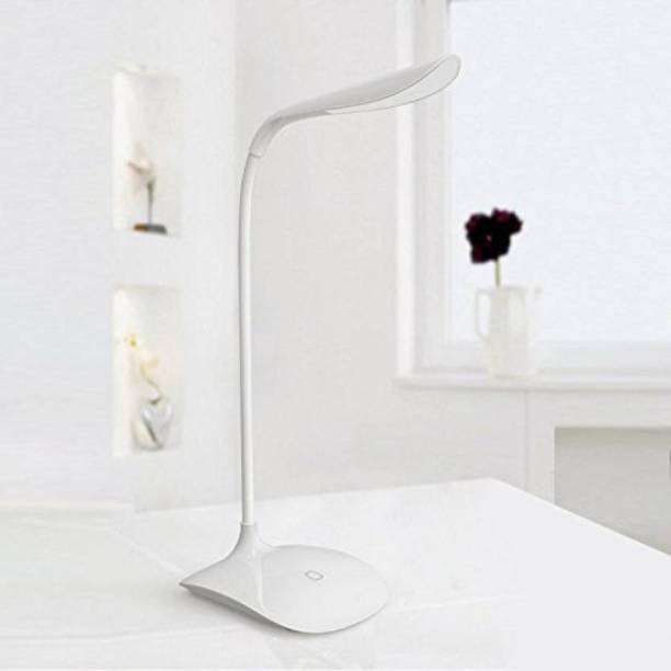 ESN 999 Rechargeable LED Touch On/Off Switch USB Charging(White) Study Lamp