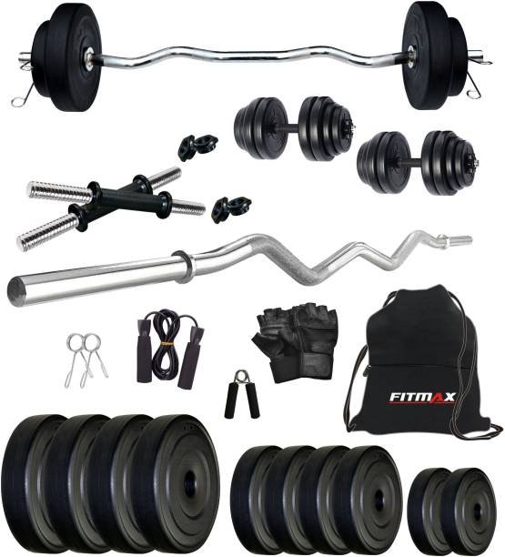 FITMAX 20 kg PVC COMBO 3-SL Home Gym Combo