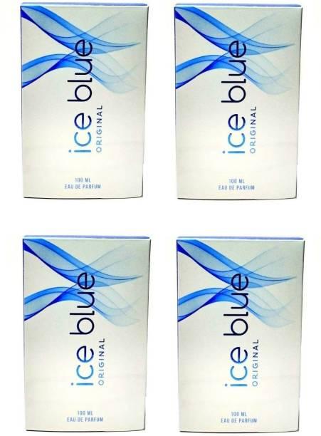 AROCHEM Ice Blue Perfume 100ML Each (Pack of 4) Eau de Parfum  -  400 ml