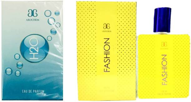 AROCHEM H2O and Fashion Perfume 100ML Each (Pack of 2) Eau de Parfum  -  200 ml