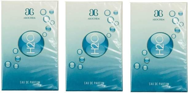AROCHEM H2O Perfume 100ML Each (Pack of 3) Eau de Parfum  -  300 ml