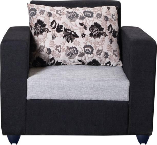 Bharat Lifestyle Nano Fabric 1 Seater  Sofa