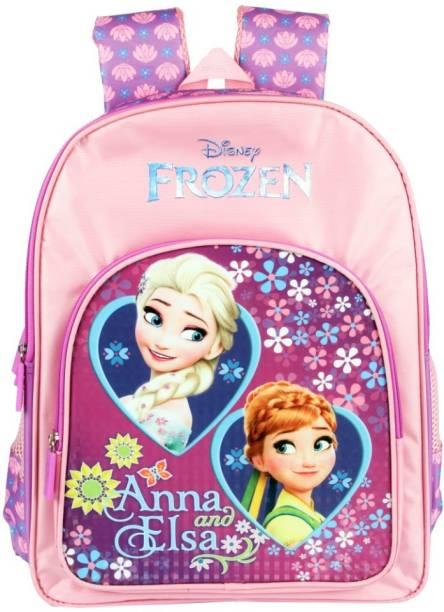 Disney Frozen Frozen Anna & Elsa Purple School Bag 41 cm (Primary 1st-4th Std) School Bag
