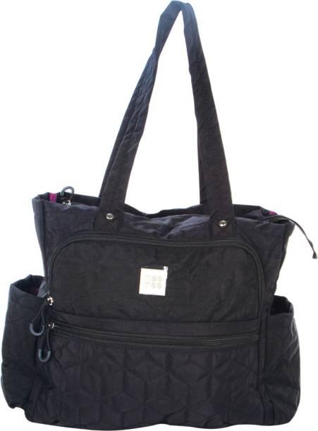 849202b35 MeeMee Multipurpose Diaper Bag with Bottle Warmer (Black) Nursery Bag