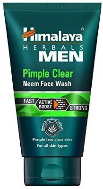 HIMALAYA Men Pimple Clear Neem  50ml pack of 2 Face Wash