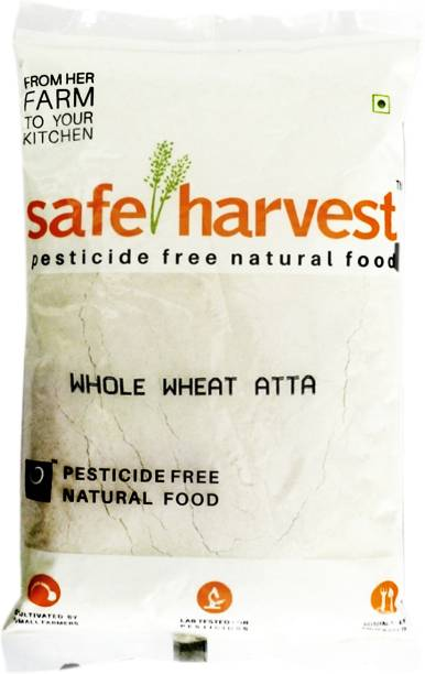 safe harvest Whole Wheat Atta