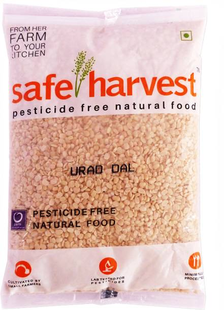 safe harvest White Urad Dal (Split)