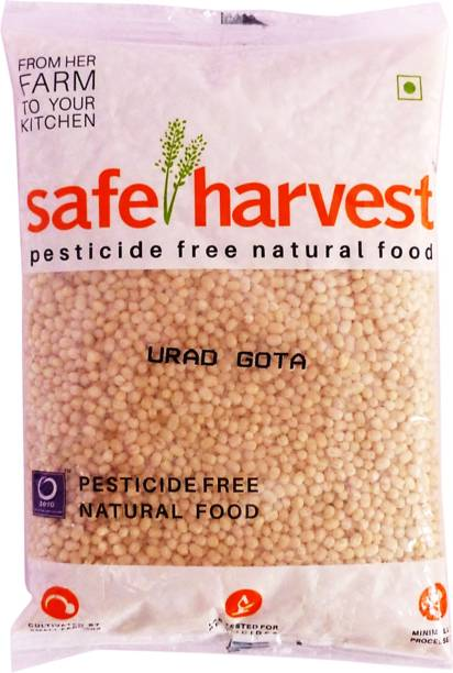 safe harvest White Urad Gota (Whole)