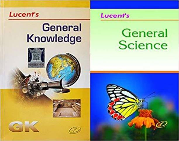 LUCENT'S Generral Knowledge And Lucent's General Science (Best Book For General Knowledge And General Science)(Help In SSC-CGL,SSC-CHSL,DSSSB,UPSC,CDS,NDA,RRB,Railway NTPC,Bank PO,Bank Clerk And All Other Govt Exam) (Lucent,General Knowledge, General Science,English Medium)