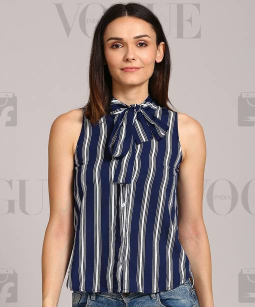 ce61f11da0b9d1 Striped Tops - Buy Striped Tops Online For Women at Best Prices In ...