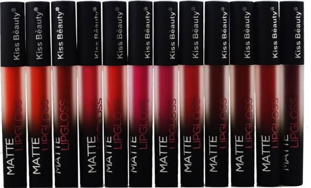 Kiss Beauty Matte Lipgloss Lipstick-7557B