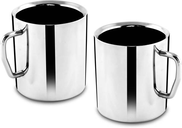 Classic Essentials Cappuccino Double Walled Coffee Stainless Steel Coffee Mug