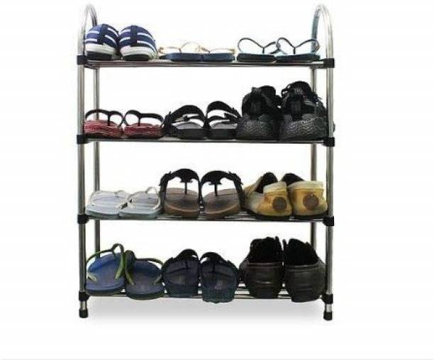 Shopper52 Metal Collapsible Shoe Stand