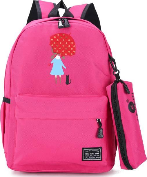 Tinytot SB054 School Backpack College Bag Travel Bag Multipurpose Bag Waterproof School Bag