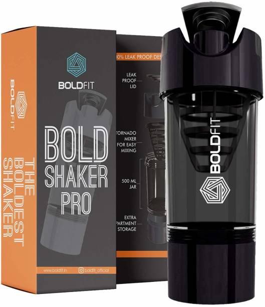 BOLDFIT Cyclone Gym Shaker Water Bottle 500 ml Shaker
