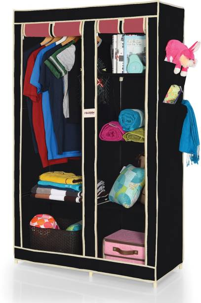 """FOLDDON """"Dual Color"""" Carbon Steel Collapsible Wardrobe"""