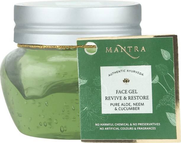 Mantra Revive & Restore Face Gel Pure Aloe Neem & Cucumber