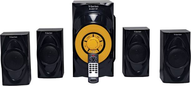 T-Series M-4007BT 4.1 Channel Bluetooth Multimedia Speaker System (Black) 50 W Bluetooth Home Theatre