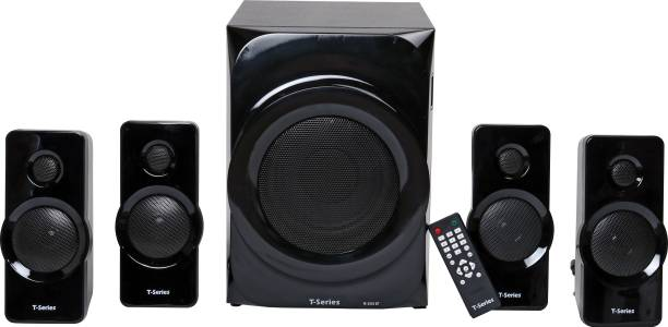 T-Series M-5555BT 4.1 Channel Bluetooth Multimedia Speaker System (Black) 55 W Bluetooth Home Theatre