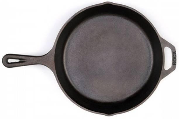 Rock Tawa PAN 10.5 In Pre-Seasoned Cast Iron Skillet Fry Pan 26.4 cm diameter