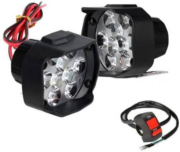 SPEEDZZ Ko 9LED2128 Fog Lamp Motorbike LED for Hero (12 V, 10 W)