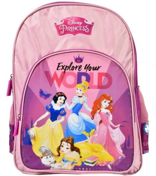 Disney Princess Pre-School World 36cm Nursery (LKG/UKG/1st std) School Bag