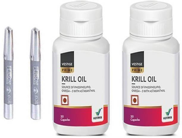 Vestige Krill oil capsules with parsoni kajal 2 pcs