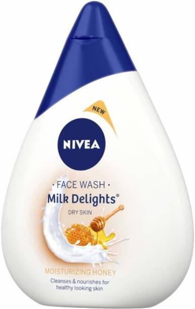 NIVEA Milk Delights Moisturizing Honey(Dry Skin) Face Wash