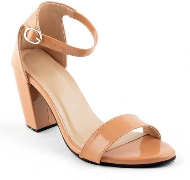 aa92bd7286f Block Heels - Buy Block Heels Sandals Online At Best Prices in India ...
