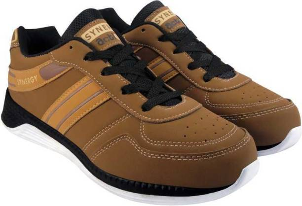 2578030ea27b6 Action Action Synergy Men s 7101 BrownTan Sports Running Shoes Running Shoes  For Men
