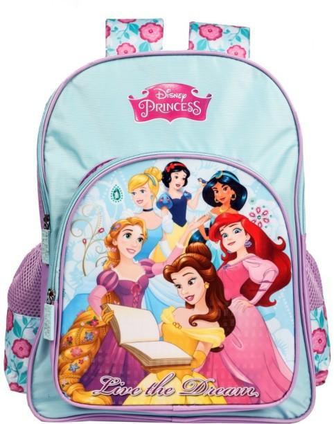 "NWT Princess 10/"" Mini Backpack School Bag for Toddlers Disney w//Cinderella Ariel"