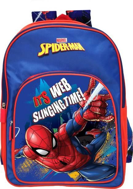 4fe8e2ecebd Spiderman Web Slinging 41cm Primary (Primary 1st-4th Std) School Bag