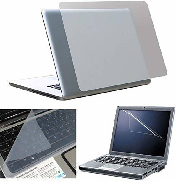 Fedus Laptop Screen Guard, Keyboard Protector and Laptop Skin Combo Set