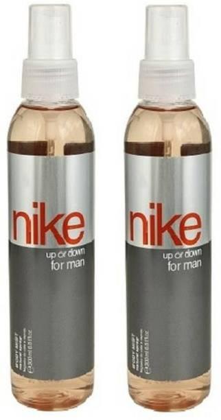 NIKE Up or Down Man Body Mist 150ml Each (Pack of 2) Body Mist  -  For Men