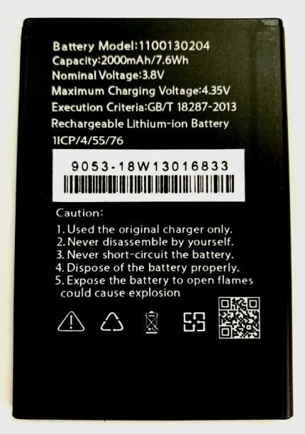 Door Of Fashion Mobile Battery For  Videocon Videocon Graphite V451720