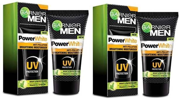 GARNIER Men Power White Anti-Pollution Brightening Moisturiser (UV Protection)
