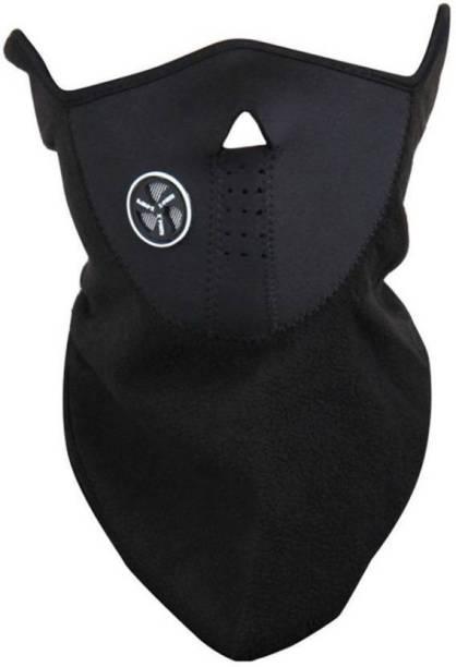 Xeekart Black Bike Face Mask for Men & Women