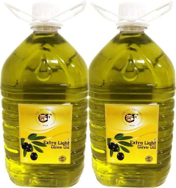 The Oil Factory Extra Light Pack Of 2 Olive Oil Plastic Bottle