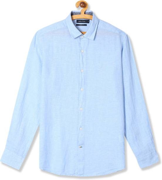 bd811e1fad4 Linen Shirts - Buy Linen Shirts online at Best Prices in India ...