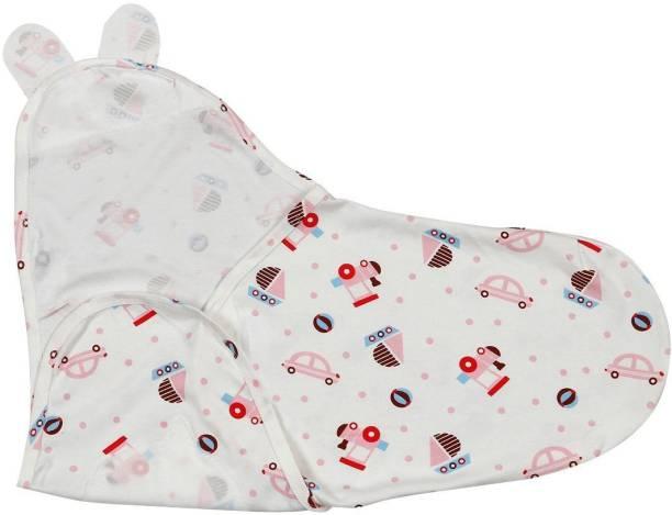 Ninos World Baby's Cotton Kassy Adjustable Swaddle/Wrap Sleeping Bag