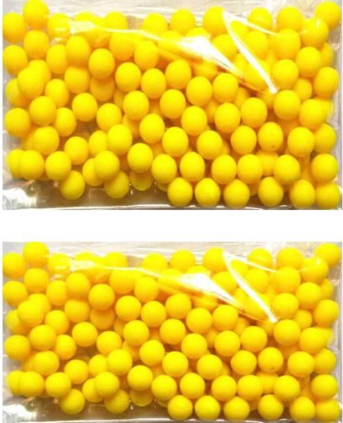 BBS DEAL 200 Pcs 6 MM Plastic BB Bullets For Toy Guns & Air Gun | | Yellow Or Green Colour (Yellow, Green) Darts & Plastic Bullets