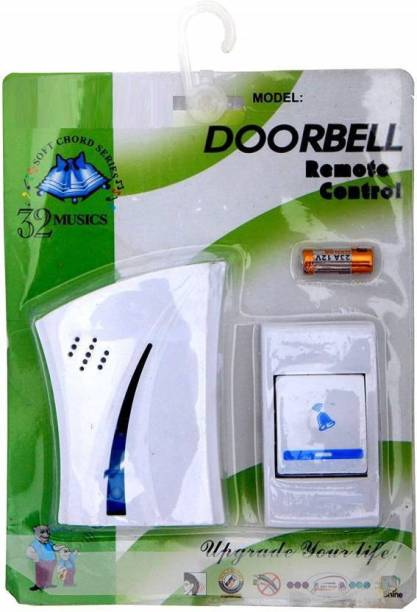 WDS ™ Perfect Wireless Calling Remote Door Bell For Home Shop Office Wireless Door Chime Wireless Door Chime
