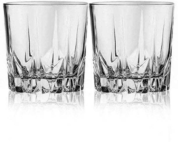 HKC HOUSE (Pack of 2) whiskey glass-2 Glass Set