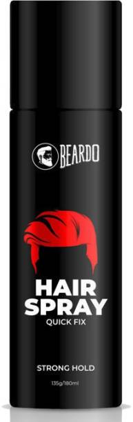 BEARDO Strong Hold Hair Spray For Men Hair Spray 135 gm Hair Spray