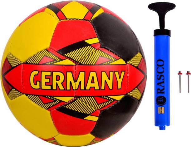 RASCO GERMANY STREET FOOTBALL SIZE 5 WITH AIR PUMP Football - Size: 5