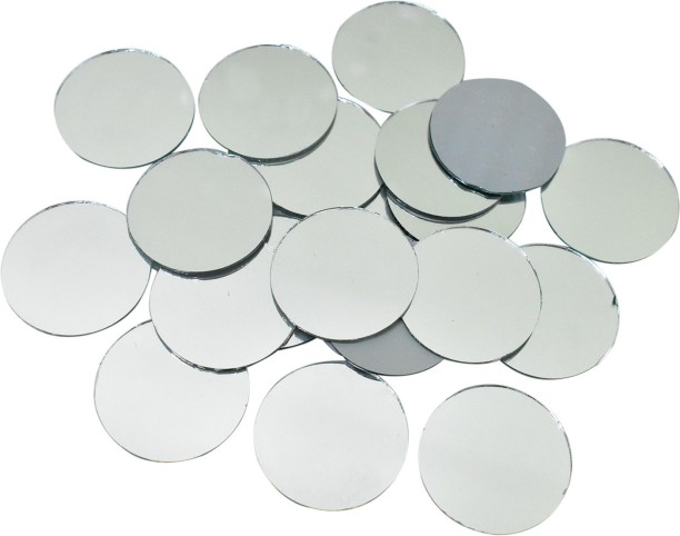 Round Shape 100Pcs Shisha Mirrors For Embroidery And Craft Purpose 1Cm