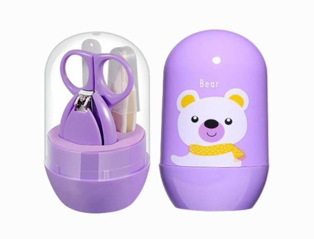 First Trend Pocket Size Nail Care Set (Purple)