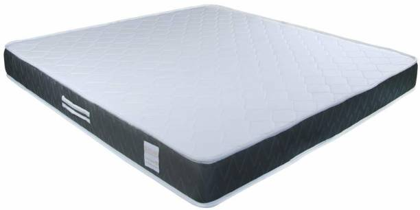 Shinysleep Siesta Superb Memory Foam Mattress (75x36x6) Inch 6 inch Single High Resilience (HR) Foam Mattress